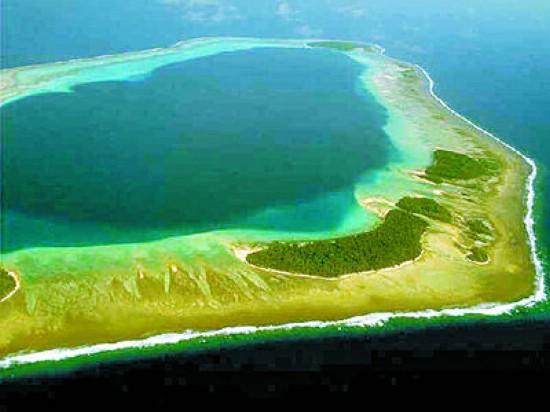 资料图:黄岩岛水域。