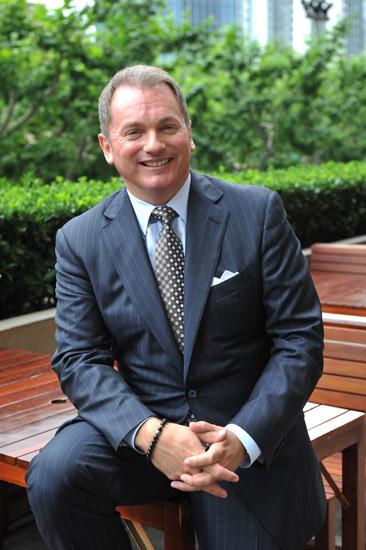 Chris Austin,喜达屋酒店及度假村国际集团全球零售休闲及豪华销售部副总裁