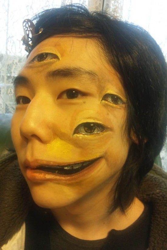 日本女孩的人体彩绘艺术组图 搜狐滚动