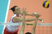图文:[大奖赛]女排1-3土耳其 突破斜线