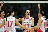 图文:[大奖赛]女排1-3土耳其 土耳其庆祝得分