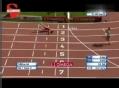 视频-田径赛演惊心一幕 选手小腿反向弯断90°