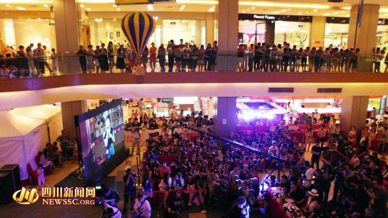 中国 赛区/中国女孩2012昕薇平面模特大赛(西南赛区)复赛现场。