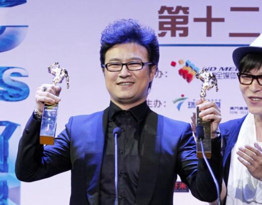 华语音乐传媒大奖昨颁出 汪峰黄贯中成为大赢家