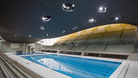 奥林匹克公园水上运动中心内部