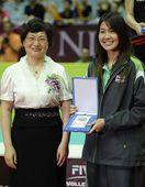 图文:2012世界女排大奖赛 最佳二传诺特萨拉