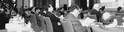 第五届跨国公司领袖圆桌会议开幕式现场