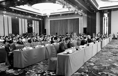 第五届跨国公司领袖圆桌会议大会现场