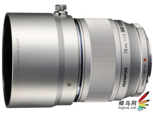 奥林巴斯M.ZUIKO 75mm F1.8镜头正式发布