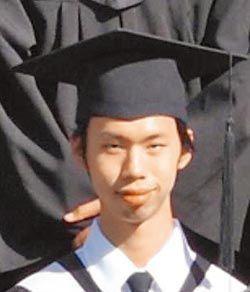 涉杀害林姓女毕生的林昆翰,也是联合大学学生。上图为其学士照。