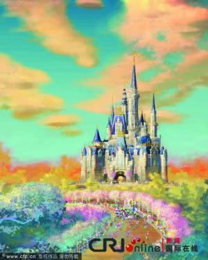 上海迪士尼城堡全球最高最大(图)图片