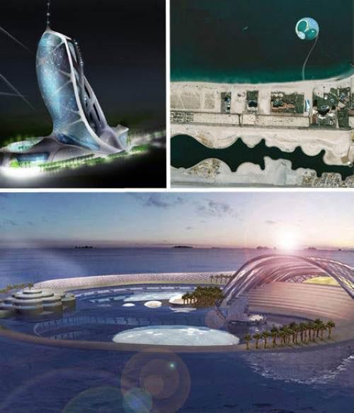 迪拜七星级水下酒店Hydropolis