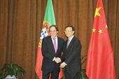 杨洁篪同葡萄牙国务部长兼外长举行会谈(组图)