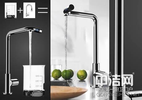 节水厨卫时代 能控制出水量的智能水龙头图片