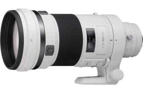 索尼日本已将SAL 300mm f/2.8镜头停产