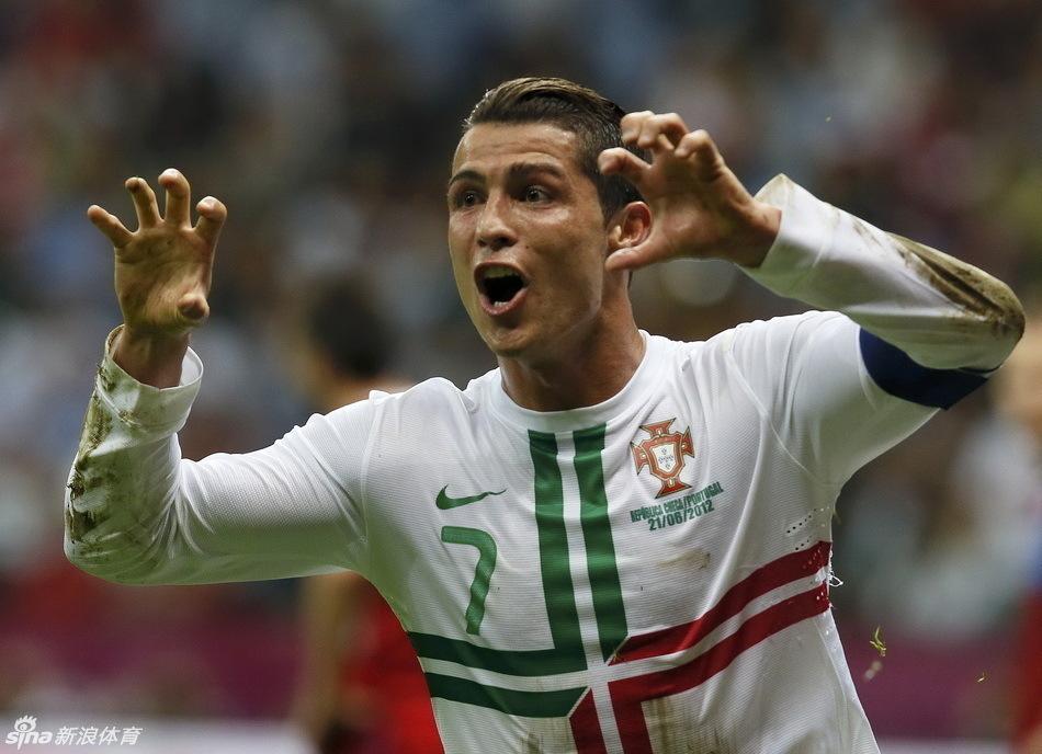 帅哥 梅西/欧洲杯赛场上的帅哥之C罗