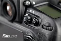 尼康 D800 自动对焦按钮