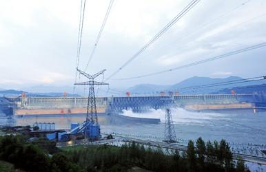 三峡沙滩32台电站全部冲浪(图)投产机组视频图片