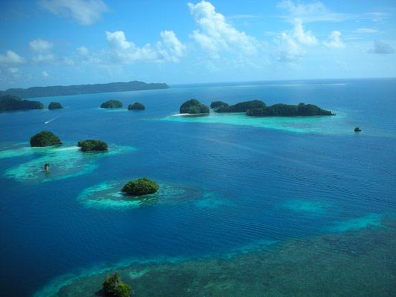 太平洋帕劳 上帝的水族箱