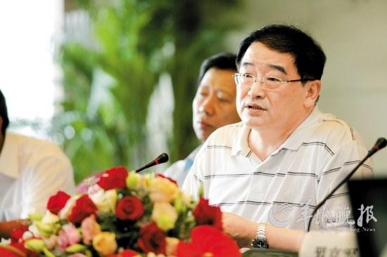 试点城市足球发展会议昨于广州召开,韦迪在会上大谈中国足球革新之道CFP供图