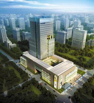 中盈盛达国际金融中心(效果图)今日,佛山新城核心区的
