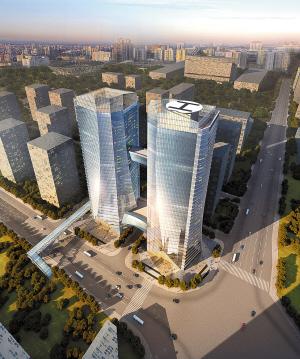 欧浦中国金属交易总部基地(效果图)