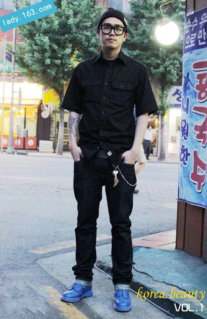 韩国一周街头达人发型波波头发型风再袭来(组短发头发少前面图片