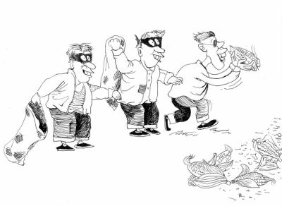 南阳飞信平台盗窃警接报一窝端掉贼漫画(图2013老鼠热点图片