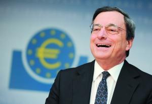 图为欧洲央行行长德拉吉。 IC/供图