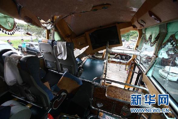 哈尔滨旅游团在台湾遇车祸(组图)