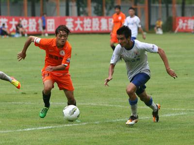 预备队联赛鲁能3:1贵州 董事会领导现场观战