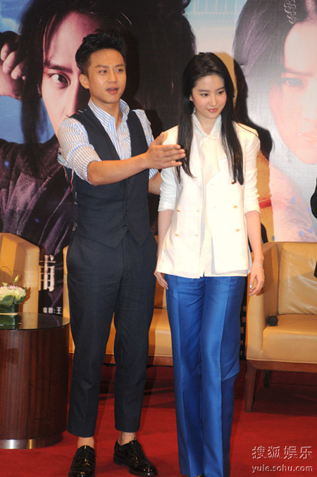 邓超《四大名捕》上海首映