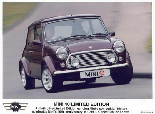 1996年面世的Mini MK IV