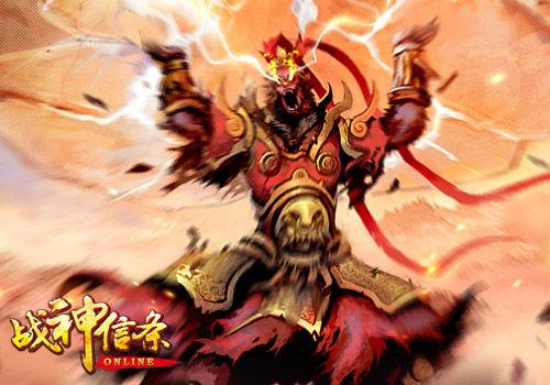 将孙悟空塑造成了带有邪恶气息的战神,画面带有浓郁的暗黑风格.