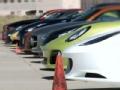 超级跑车的大集会 众多超跑对比加速性能
