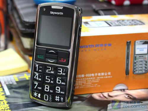 创维l_【创维L100】创维L100老人手机GSM红色彩