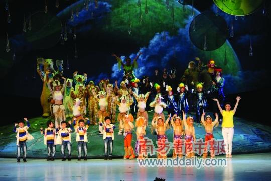 在深圳英皇国际幼儿园举办的2012届毕业典礼