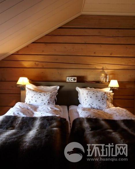 Faviken的客房