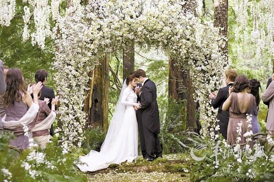 丛林婚礼浪漫唯美