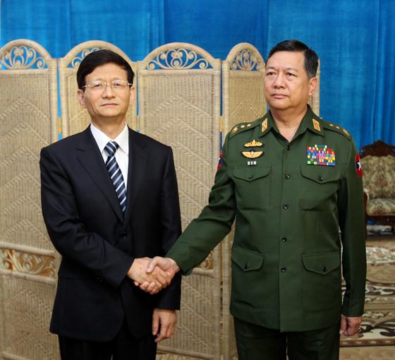 哥哥日_孟建柱与缅甸内政部长会谈 谈湄公执法合作(图)