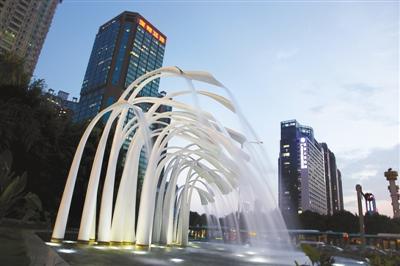深圳雕塑《绽放》获全国大奖(图)图片