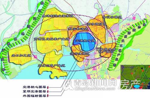 城阳空港经济区规划图