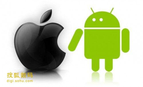 1.智能手机市场仍然处于双头垄断