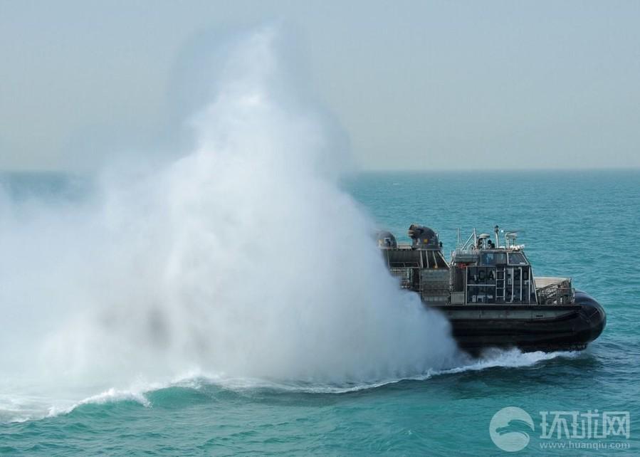 运力 美军 气垫船 吓人/美军气垫船运力真吓人