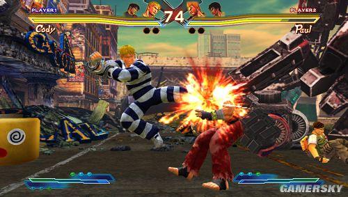 街头X铁拳 PSV版最新游戏截图公布