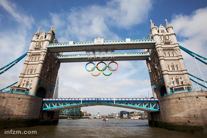 奥运火炬拜访英国著名景点(组图)