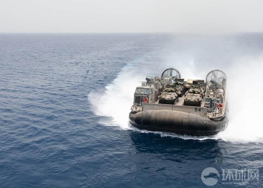 运力 美军 气垫船 吓人/美军气垫船运力真吓人(组图)