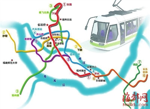 福州地铁规划_福州地铁规划增至9条增加闽侯