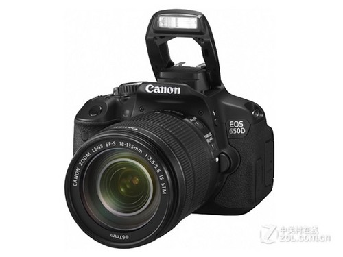 搭载全新镜头 佳能入门单反650D套机上市