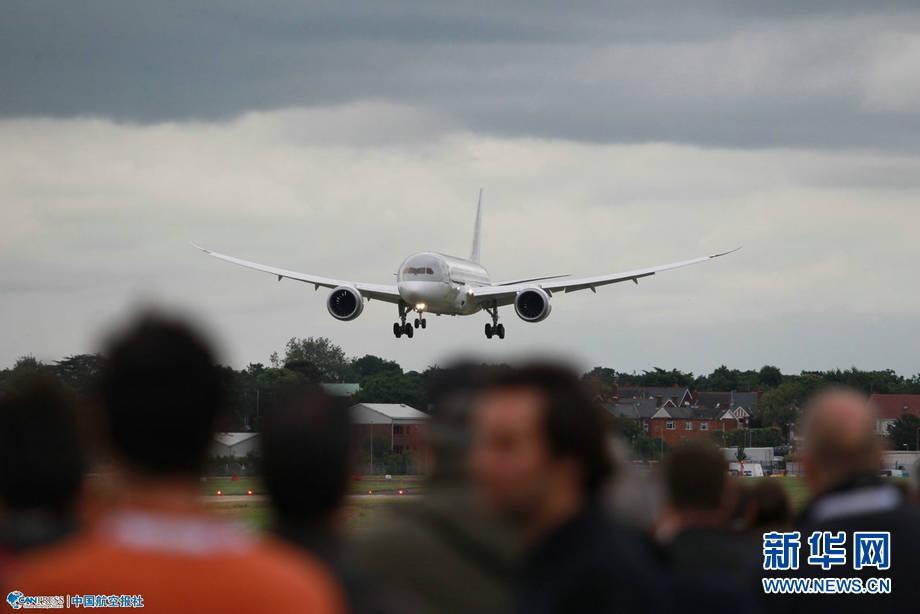 世界第二大航展第四十八屆英國范堡羅國際航空航天展覽會開幕.圖片
